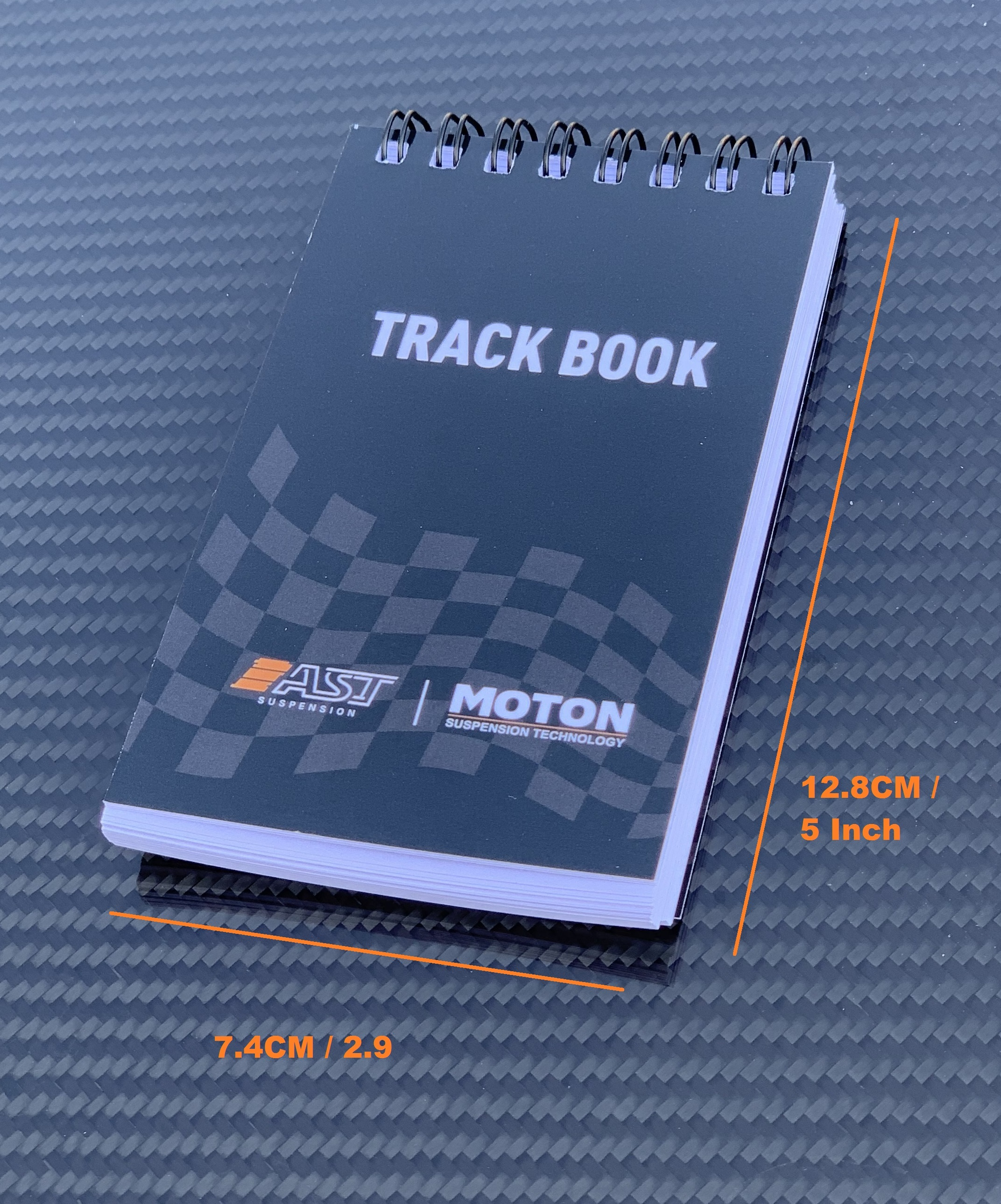 Trackbook AST and MOTON suspension